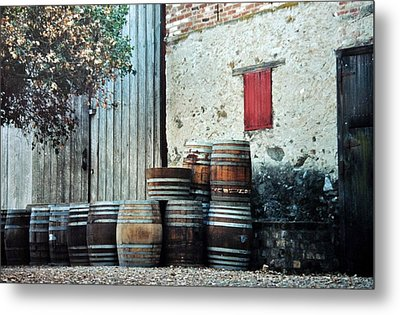 Metal Print featuring the photograph Lazy Afternoon At The Winery by Diane Alexander