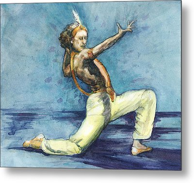 Metal Print featuring the painting Le Corsaire by Lora Serra