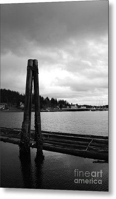 Lean On Me Metal Print by Alison Tomich