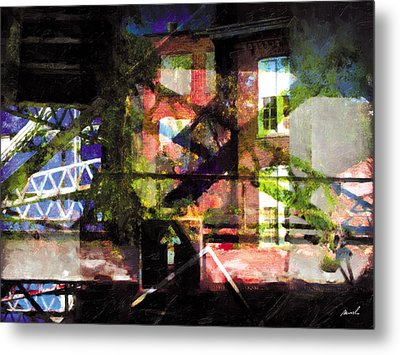 Metal Print featuring the photograph Less Travelled 18 by The Art of Marsha Charlebois