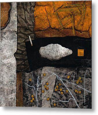 Let Nature Enter Your Body  Metal Print