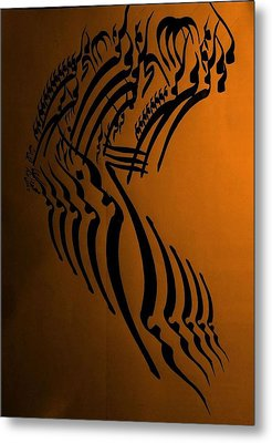 Let Your Spirit Fly Metal Print by Mah FineArt