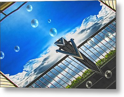 Letting Go Metal Print by Wendy J St Christopher