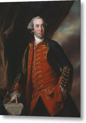 Lieutenant Colonel William Phillips 1764 Metal Print by Francis Cotes