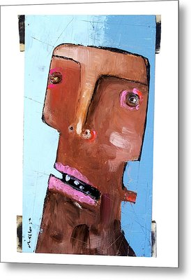 Life As Human Number Eighteen Metal Print by Mark M  Mellon