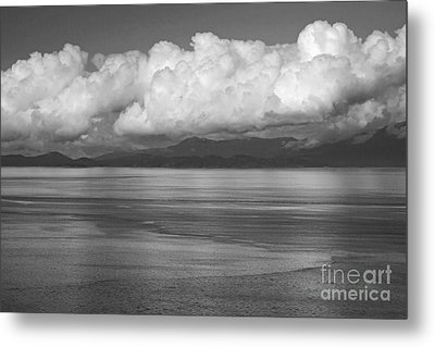 Metal Print featuring the photograph Light Over The Salish Sea by Inge Riis McDonald