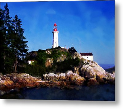 Lighthouse Metal Print by David Blank
