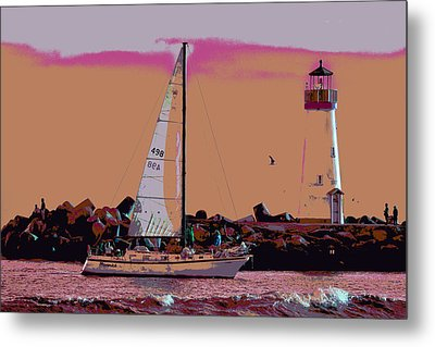 Lighthouse Tour 8940 Metal Print by Tom Kelly