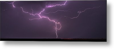 Metal Print featuring the photograph Lightning by Rob Graham
