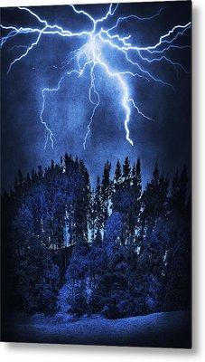 Lightning Metal Print by Svetlana Sewell