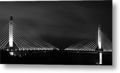 Metal Print featuring the photograph Lights by Paul Noble