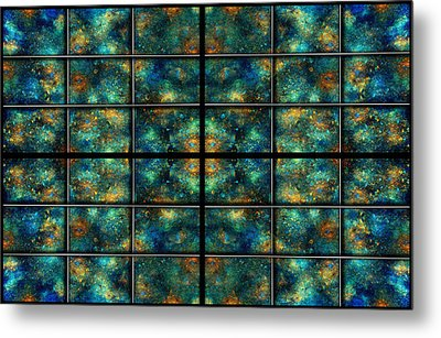 Limitless Night Sky Metal Print by Betsy Knapp
