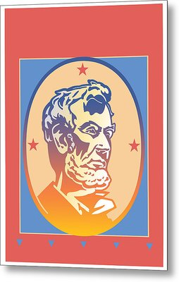 Lincoln Metal Print by David Chestnutt
