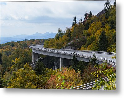 Metal Print featuring the photograph Linn Cove Viaduct by Gregg Southard