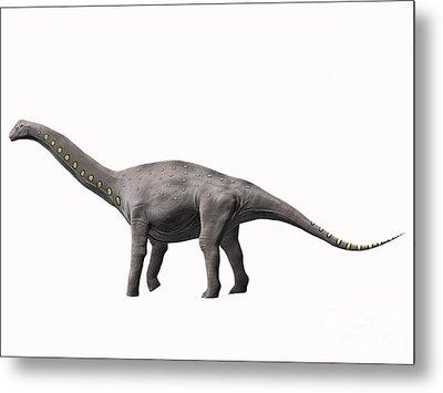 Lirainosaurus Astibae, Late Cretaceous Metal Print by Nobumichi Tamura