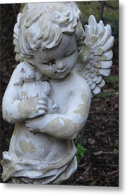 Metal Print featuring the photograph Little Angel by Beth Vincent