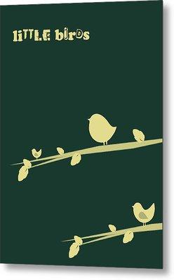 Little Birds Metal Print by Mark Ashkenazi