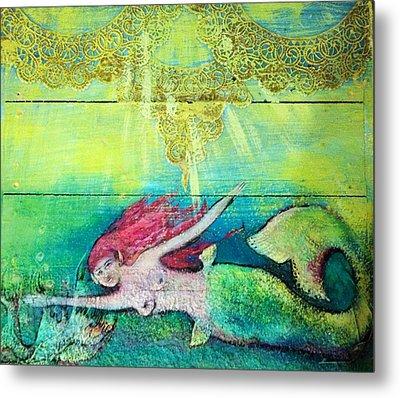 Little Mermaid  Metal Print by Michaela Kraemer