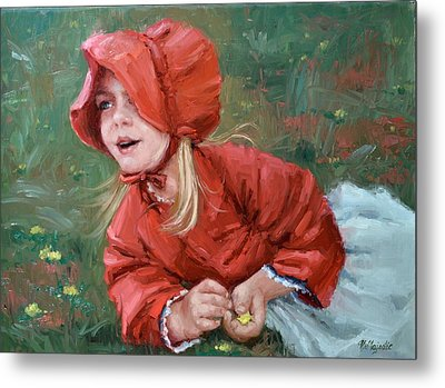 Little Red Ridinghood  Metal Print