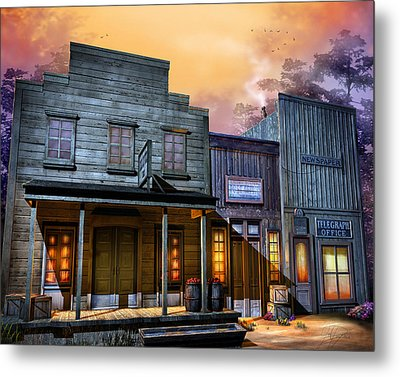 Little Town Metal Print by Joel Payne