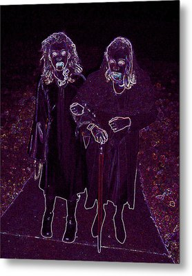 Little Vampires Metal Print by First Star Art