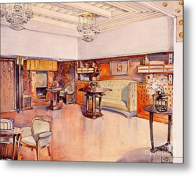 Living Room, 1905 Metal Print