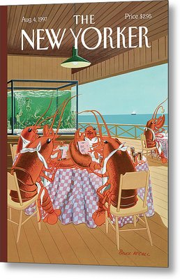 Lobsterman's Special Metal Print