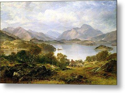 Loch Lomond, 1861 Metal Print by Horatio McCulloch