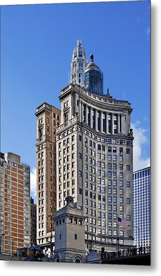 London Guarantee And Accident Building Chicago Metal Print by Christine Till