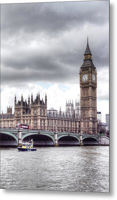 London Town Metal Print by Fizzy Image