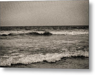 Lonely Ocean Metal Print by J Riley Johnson
