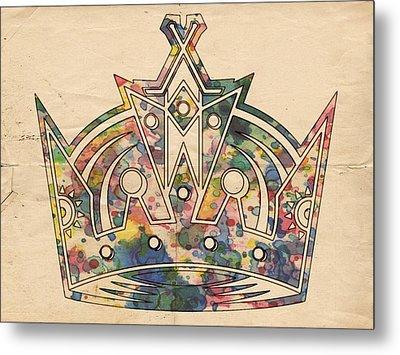 Los Angeles Kings Logo Poster Metal Print