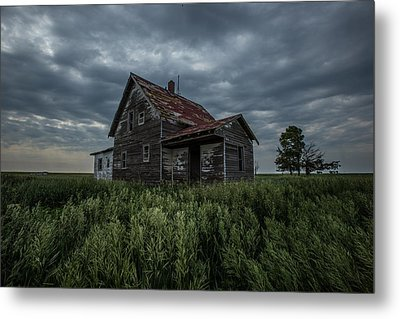 Lost Metal Print by Aaron J Groen