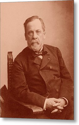 Louis Pasteur Metal Print by American Philosophical Society