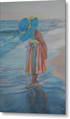 Love Comes In Many Colors Metal Print by Holly Kallie