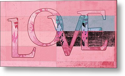 Love - J249115131t-vb Metal Print by Variance Collections