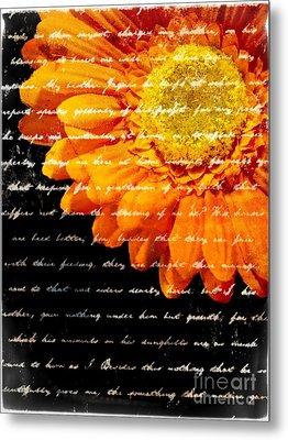 Love Letters Metal Print by Edward Fielding