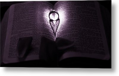 Love Psalm Metal Print by Dan Sproul