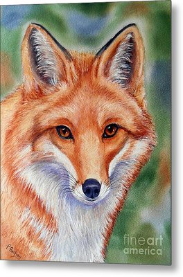 Lovely Lady Metal Print by Patricia Pushaw