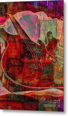 Lovin The Sound Digital Guitar Art By Steven Langston Metal Print by Steven Lebron Langston