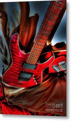 Loving Red By Steven Langston Metal Print by Steven Lebron Langston