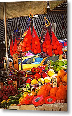 Low-hanging Fruit Metal Print by Miriam Danar