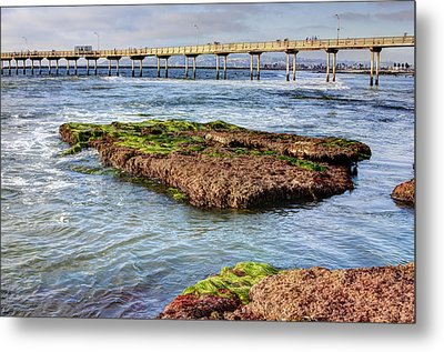Metal Print featuring the digital art Low Tide by Photographic Art by Russel Ray Photos