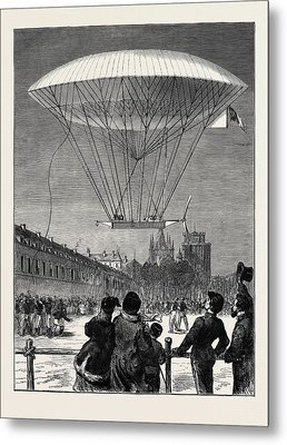 M. Dupuy De Lmes New Navigating Balloon The Ascent At Fort Metal Print