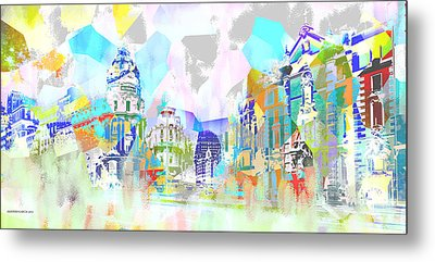Madrid 1 Metal Print by Alfonso Garcia