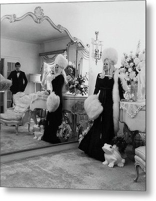 Mae West Inside Her Home Metal Print