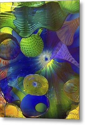 Magical Glass 2 Metal Print by Elvira Butler