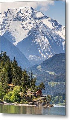Majestic Anderson Lake Landscape Metal Print by Pierre Leclerc Photography
