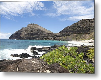 Makapuu Beach Metal Print by Brandon Tabiolo