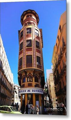 Malaga Architecture Metal Print by Lutz Baar